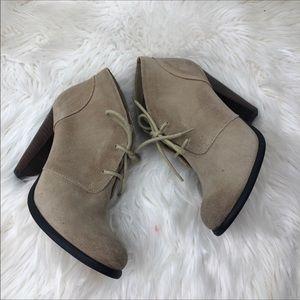 SEYCHELLS heeled ankle booties 7.5